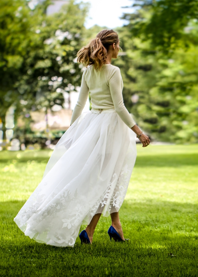 Olivia Palermo - Weddingdress