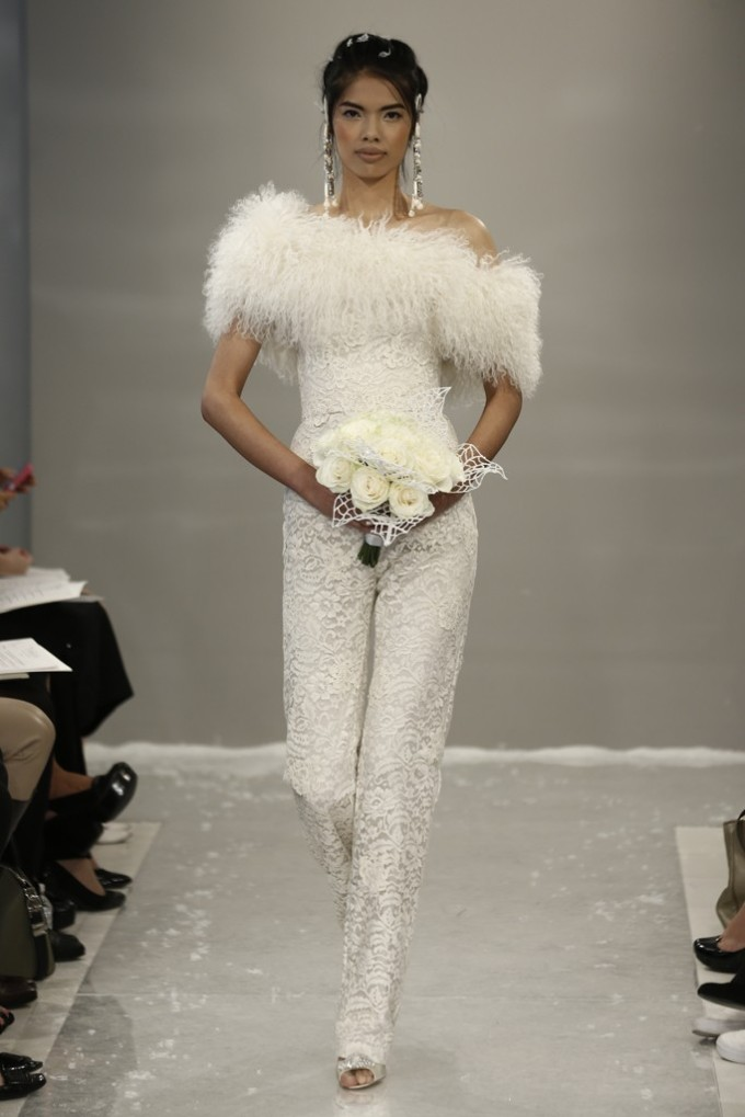 Theia White - Bridal Fall 2015