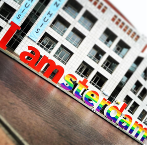 I AMSTERDAM goes RAINBOW!